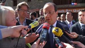Le 13 heures du 13 juin 2014 : Gr� �a SNCF : Hollande appelle � arr�r le mouvement � - 385.04