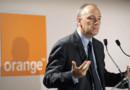 Le PDG d'Orange, Stéphane Richard, lors d'une conférence de presse le 21 juin 2012