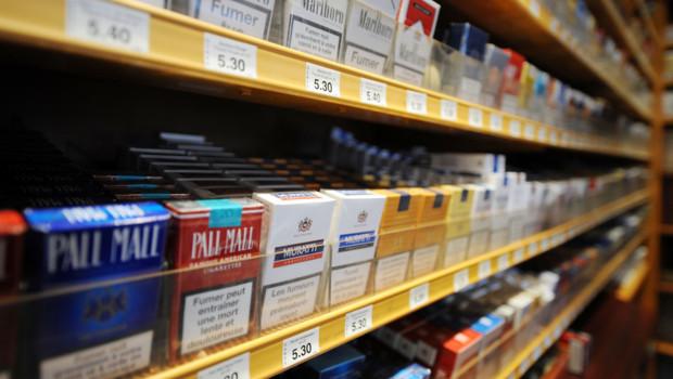 Un bureau de tabac