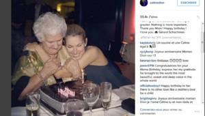 Céline Dion fête les 89 ans de sa mère
