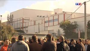 Le 20 heures du 10 octobre 2013 : Les abattoirs Gad menac�: les salari�occupent l%u2019usine - 677.1142045898437