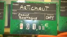 Le 20 heures du 23 septembre 2014 : L'artichaut ne fait plus vivre les agriculteurs - 994.3408527832029