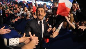 Nicolas Sarkozy à Villepinte le 11 mars 2012.