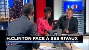 """Présidentielle américaine : """"des gants de velours"""" pour ce premier débat des démocrates"""