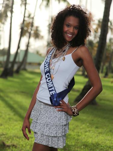 Miss Franche Comté 2009 - Diop Estelle : candidate Miss France 2010