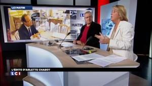 L'EDITO d'Arlette Chabot : Hollande, le problème d'autorité