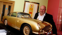 La maquette de l'Aston Martin DB5 vendue aux enchères.