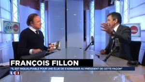 "Le Pen à Strasbourg : Une attitude ""honteuse"" selon Fillon"