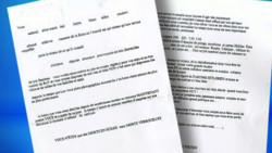 lettre menaces balle 9 mm sarkozy dati mam albanel juppé