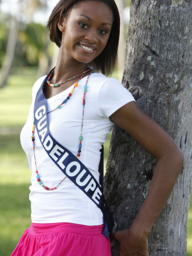 Miss Guadeloupe 2009 - Angélique Duro : candidate Miss France 2010