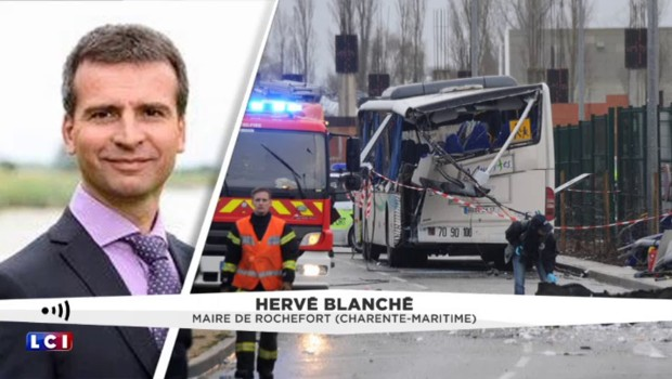 """Accident mortel de car scolaire à Rochefort : """"C'est horrible"""", réagit le maire"""