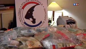 """Blanchiment de l'argent de la drogue en France : les saisies lors de l'opération """"Virus"""""""