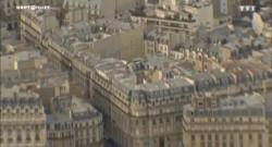 Caméra embarquée sur un faucon, découvrez Paris vu du ciel