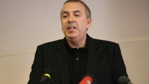 Jean-Marc Morandini lors de sa conférence de presse le 19 juillet 2016 à Paris