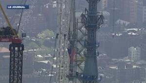 La flèche qui surmonte le World Trade Center One.