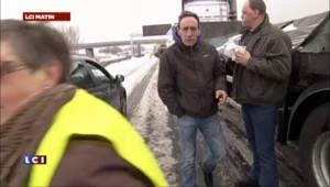 """""""La galère continue, trafic encore bloqué sur l'A1"""""""