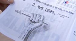 Le 13 heures du 22 mai 2015 : Charlie Hebdo : un lycéen menacé de mort à Saint-Maur - 182