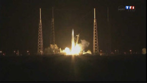 SpaceX capsule Dragon vers l'ISS