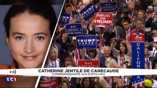 """Trump officiellement candidat à la Maison Blanche : ambiance """"survoltée"""" lors de son annonce"""