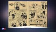 Une planche de Tintin signée Hergé et appartenant à Renaud adjugée à plus d'un million d'euros