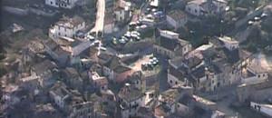 Vues aériennes de la ville de l'Aquila, 06 avril 2009