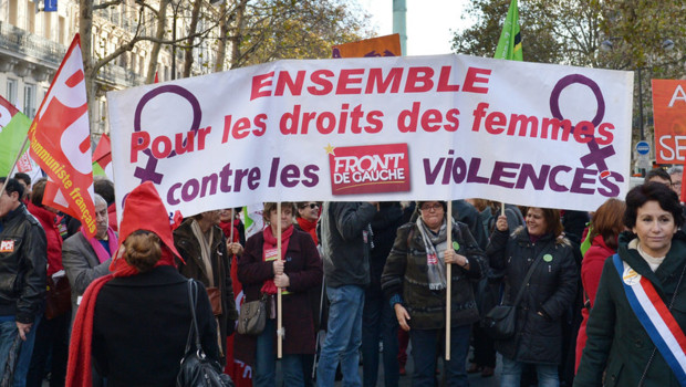 manif violences femmes