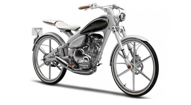 News Automoto : Yamaha Y125 Moegi : vélomoteur du futur
