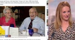 A 103 et 91 ans, ils seront bientôt les plus vieux mariés du monde