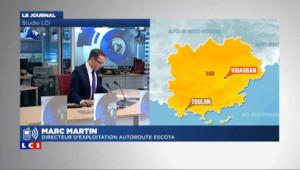 Accident dans le Var : des évacuations en cours