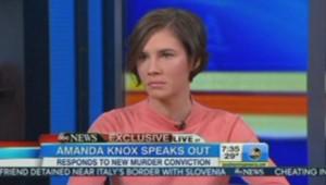 Amanda Knox se défend sur la chaîne de télévision américaine ABC le 31 janvier 2014