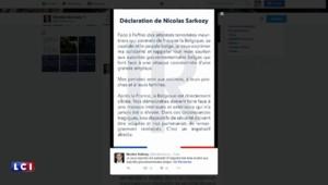 """Explosions à Bruxelles : Sarkozy exprime sa """"solidarité"""" et son """"soutien"""" aux autorités belges"""