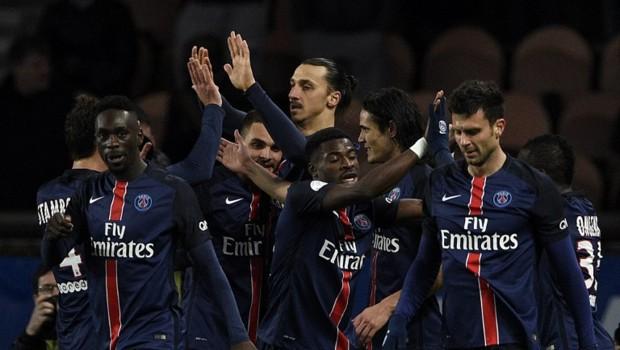 Ibrahimovic et ses coéquipiers.