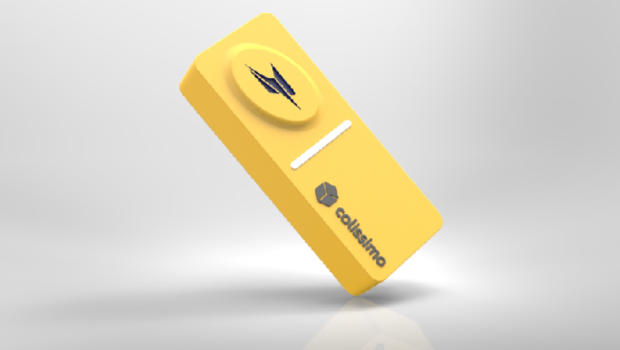 """La Poste lance son """"Domino"""", un bouton connecté pour envoyer des colis sans bouger"""