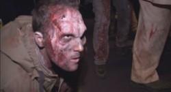 Un acteur déguisé en zombie pour la promotion de Dead Rising 3 et de la sortie de la Xbox One à New-York.