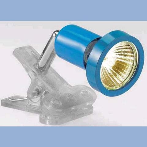 Conforama - Lampe Nemo Clip Halo Bleu