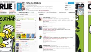 Charlie Hebdo Twitter