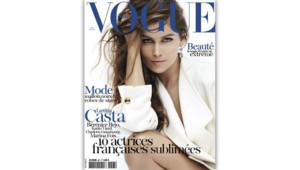 La couverture du magazine Vogue du mois de mai 2012