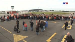 Le 13 heures du 14 octobre 2013 : Manifestation �%u2019a�port de Brest - 501.67800000000005