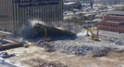 parking états-unis texas houston accident pelleteuse