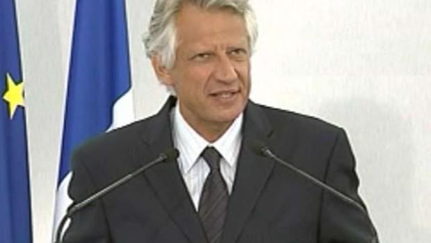 Villepin Mantes-la-Jolie conférence de presse mensuelle juillet