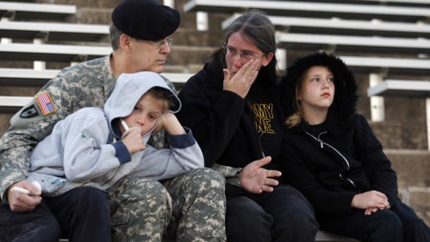 La tristesse à fort Hood au lendemain de la tuerie