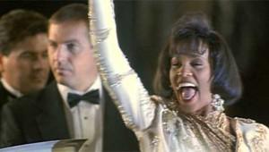 Whitney Houston dans le film The Bodyguard