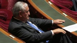 Jean-Pierre Raffarin au Sénat