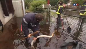 Le 13 heures du 9 juin 2013 : Risques d'inondations au Pays basque - 292.6360000000001