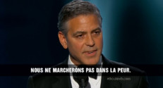 """Le 20 heures du 12 janvier 2015 : George Clooney : """"Je suis Charlie !"""" - 2201.7545570678712"""
