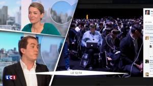 Mobile World Congress : une photo de Mark Zuckerberg, boss de Facebook, fait le buzz