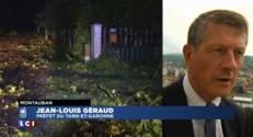 """Orages : """"Compte tenu des dégâts, la rentrée scolaire a été reportée"""" à mercredi matin"""