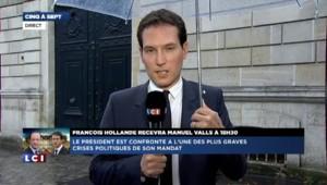 """Remaniement : """"François Hollande n'a pas regardé la conférence de presse d'Arnaud Montebourg"""""""