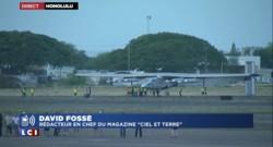 """Solar Impulse II réussit sa traversée du Pacifique : """"Un exploit humain"""""""