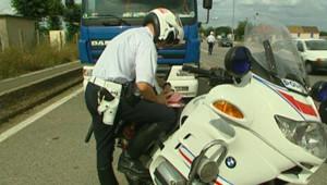 Un contrôle routier
